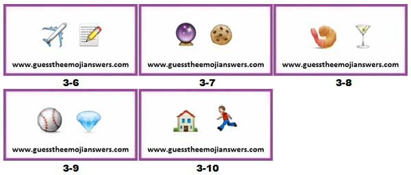 Level 3 Guess The Emoji Answers