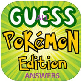 all guess pokemon edition answers level 221 230