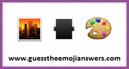 Guess The Emoji Level 102-6