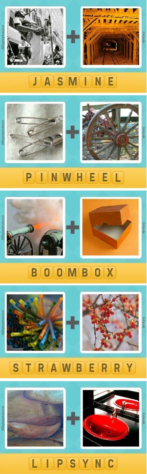 Pictoword Level 116 120 Answers